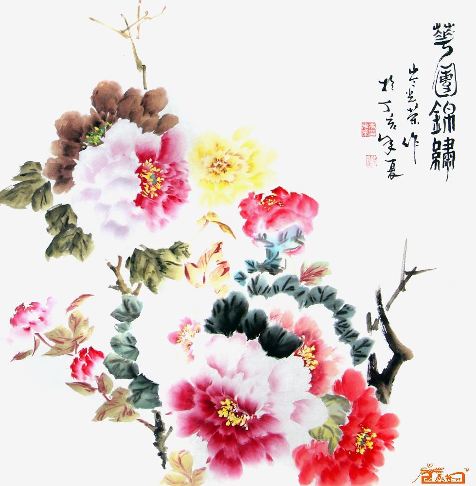 鲜花团平面设计图